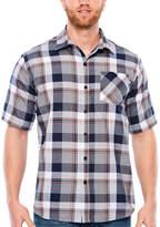 Ecko Unlimited Unltd Short Sleeve Plaid Button-Front Shirt-Big and Tall
