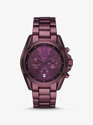Michael Kors Oversized Bradshaw Lavender-Tone Watch