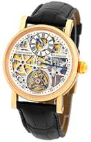 "Chronoswiss Tourbillon"" CH 3121 R 18K Rose Gold & Leather 38mm Mens Watch"