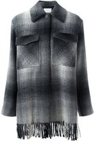 Alexander Wang checked shirt coat - women - Wool/Acrylic/Polyester/Viscose - 2
