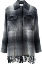 Alexander Wang checked shirt coat
