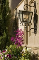 The Well Appointed House Christian Exterior Wall Lantern-Available in Six Different Finishes