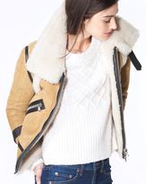 Veronica Beard Windsor Shearling Jacket