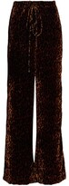 Thumbnail for your product : LaQuan Smith Crushed Velvet Lounge Pants