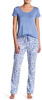 Joe Fresh Printed Jersey Pant