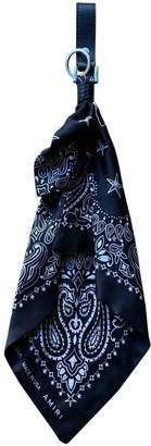Amiri \N Black Silk Small bags, wallets & cases