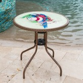 Panama Jack Island Breeze Glass Bistro Table Outdoor