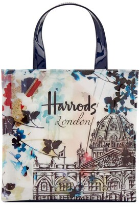 Harrods Watercolour Small Shopper Bag