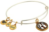 Alex and Ani Initial H Charm Bangle (Two-Tone) Bracelet