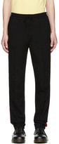 John Lawrence Sullivan Johnlawrencesullivan Black Striped Trousers