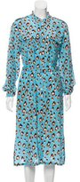 Vanessa Seward Printed Silk Midi Dress w/ Tags