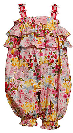 Bonnie Baby Newborn Ruffle Glitter Party Pants