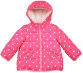 Carter's Pink Dot Long-Sleeve Coat - Toddler Girls 2t-5t