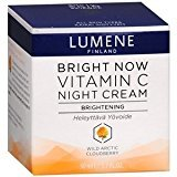 Lumene Bright Now Vitamin C Night Cream, 1.7 Fluid Ounce, (Pack of 3)