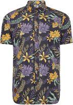 O'neill O`riginals Nelumbo Floral Classic Fit Short Sleev
