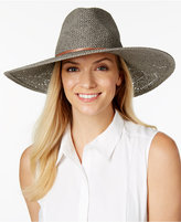 Vince Camuto Eyelet Woven Panama Hat