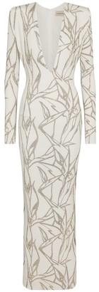 Alexandre Vauthier Crystal-embellished gown