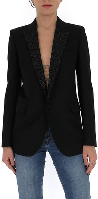 Saint Laurent Sequinned Blazer