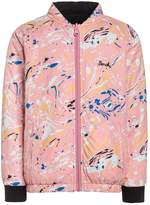 Bench REVERSIBLE Bomber Jacket light pink