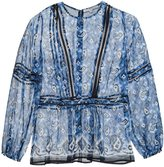 Veronica Beard printed blouse