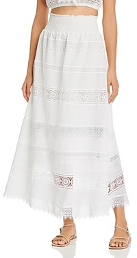 Waimari Fiammetta Lace Maxi Skirt
