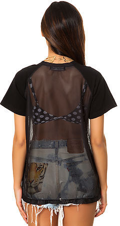 This Is A Love Song The Home Run Top in Black