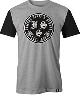 Famous Stars & Straps Men's Rosa Swap-Print Logo Cotton T-Shirt