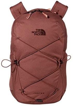 The North Face Jester Backpack (TNF White Metallic Melange/Mid Grey) Backpack Bags