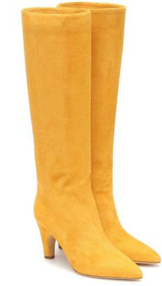 Gabriela Hearst Luther suede knee-high boots