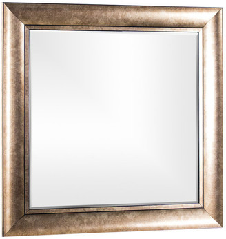 American Art Decor Hartley Bronze Antiqued Vanity Wall Mirror