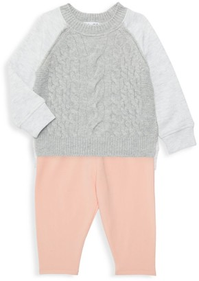 Splendid Baby Girl's 2-Piece Knit Sweater & Pants Set