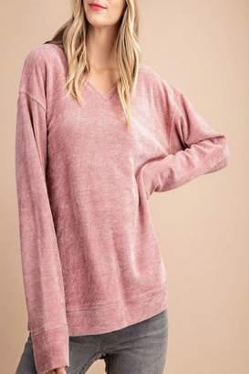 Kori America Soft V-Neck Pullover