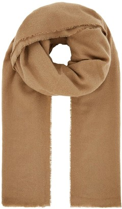 Accessorize Wells Supersoft Blanket Scarf - Camel