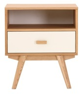 Sofia Bedside Table Variation: 1 Drawer / 1 Shelf