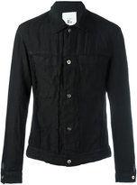 Lost & Found Rooms - patch pockets denim jacket - men - Cotton/Linen/Flax - XXS