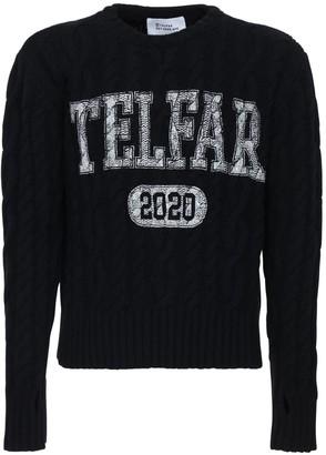 Telfar Logo Wool & Cashmere Sweater