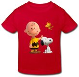 Stabe 2-6 Toddler Tee Kids Toddler Peanuts Movie 2015 Snoopy Little Boy's Girl's T Shirt
