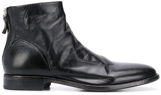 Moma Low Heel Ankle Boots