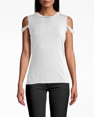 Nicole Miller Cotton Jersey Timmy T-shirt