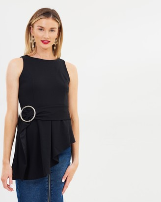 Lost Ink Belted Top