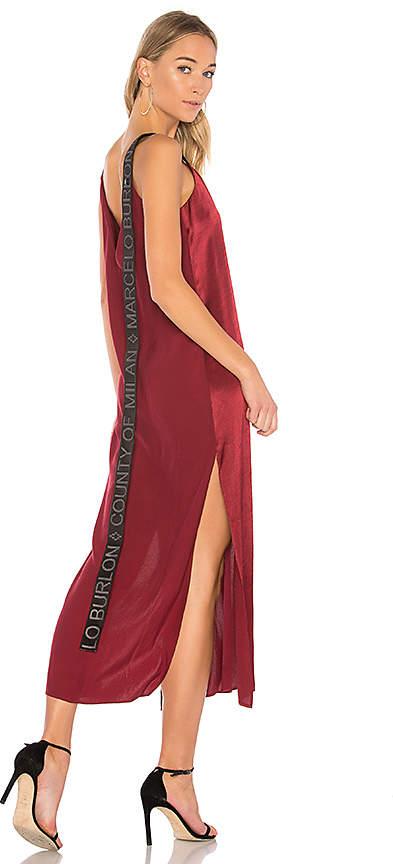 Marcelo Burlon County of Milan Lakerm Dress
