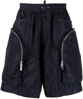 DSQUARED2 Zip-Pocket Drawstring Shorts
