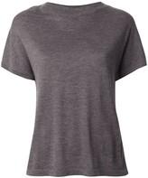 Barrie cashmere short sleeved T-shirt