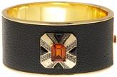 House Of Harlow Art Deco Hinged Bangle Bracelet