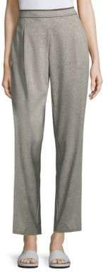 Lafayette 148 New York Soho Cotton Track Pants