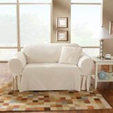 Sure Fit Cotton Duck Sofa Slipcover, Natural