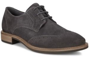 Ecco Women's Sartorelle 25 Tailored Wingtip Oxford Flats Women's Shoes