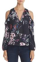 Yumi Kim Stella Floral Print Cold Shoulder Top