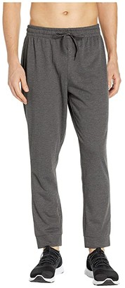 Jockey Active French Terry Pants (Charcoal Grey Heather) Men's Workout