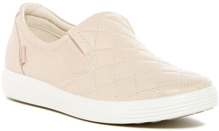 Ecco Soft 7 Quilted Slip-On Sneaker